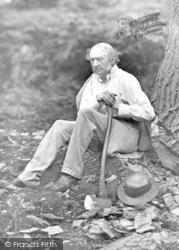 Hawarden, Park, W.E.Gladstone Tree Felling 1877