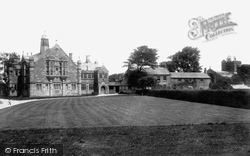 Hawarden, St Deiniol's Library, Hostel And Church 1903