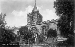 Hawarden, St Deiniol's Parish Church c.1935