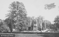 Hawarden, The Castle, West 1888