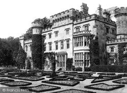 Hawarden, The Castle, West Front 1888