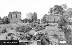 Hawarden, The Old Castle c.1955