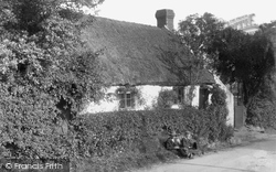 Hawarden, The Old Toffee Shop c.1900