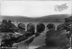 Appersett Viaduct 1900, Hawes