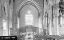 Hawes, Church Interior 1934