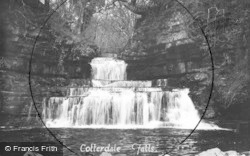 Hawes, Cotterdale Falls c.1932