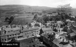 Hawes, From Church Tower 1924