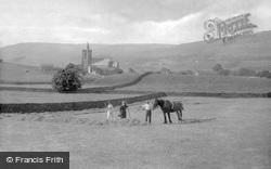 Hawes, Haymaking 1924