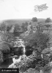 Hawes, Hell Ghyll Fall 1911