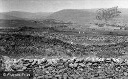Hawes, Looking Towards Great Shunner Fell c.1955