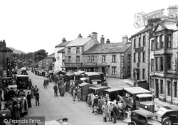 Hawes, Main Street c.1950