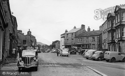 Hawes, Market Place c.1955