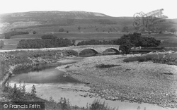 New Bridge And Stag Fell 1900, Hawes