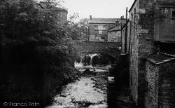 Hawes, Old Bridge c.1960