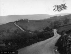 Hawes, Semmer Water Road c.1935