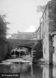 The Bridge And Waterfall c.1955, Hawes