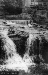Hawes, The Falls c.1960