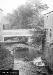 Hawes, The New Bridge c.1965