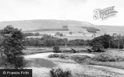 Hawes, The River c.1955