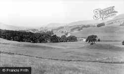 Hawes, Upper Wensleydale From Catriggs c.1955