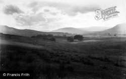 Hawes, View On The Moors 1911
