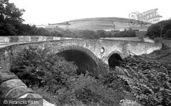 Crowbyers Bridge And Greenbrae Head c.1955, Hawick