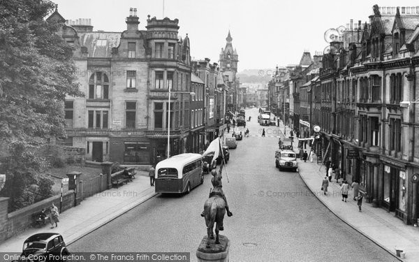 Photo of Hawick, High Street 1952