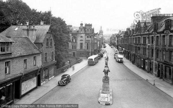 Photo of Hawick, High Street c1955, ref. H248013