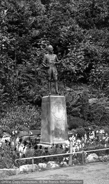 Photo of Hawick, Jimmie Guthrie Memorial c.1955
