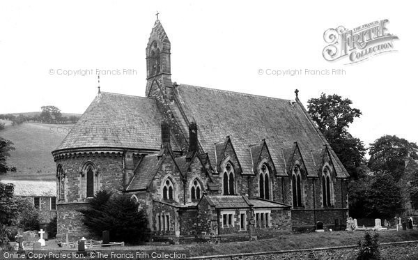Photo of Hawick, St Cuthbert's Church c.1955