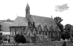 St Cuthbert's Church c.1955, Hawick