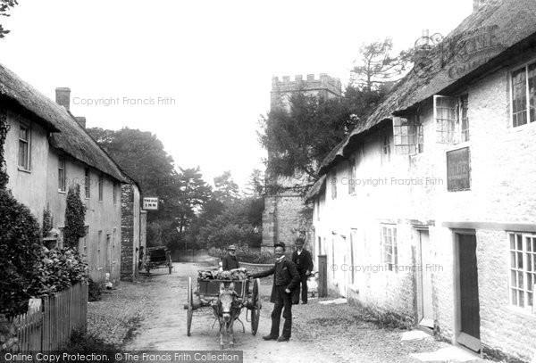 Hawkchurch, the Church and Village 1892