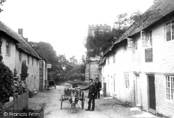 Hawkchurch, Church And Village 1892