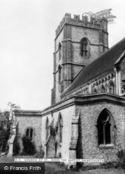 Hawkchurch, Church Of St John The Baptist c.1950