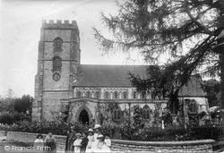 Hawkchurch, St John The Baptist Church 1892