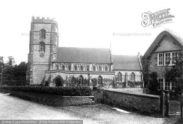 Photo of Hawkchurch, St John The Baptist Church 1902