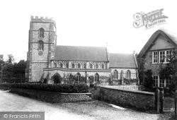 Hawkchurch, St John The Baptist Church 1902