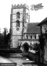 Hawkchurch, The Church 1902