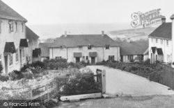 Hawkchurch, The Council Houses c.1955