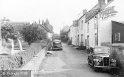 Hawkchurch, The Village Street c.1955