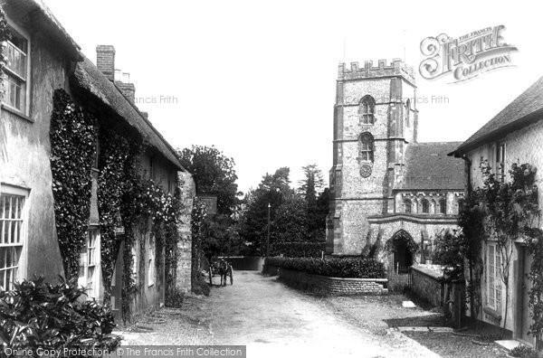 Photo of Hawkchurch, Village 1902