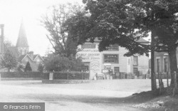 Grocery Store And Church 1902, Hawkhurst