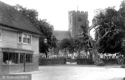St Laurence's Church 1902, Hawkhurst