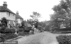 The Village And Moor Hill 1902, Hawkhurst