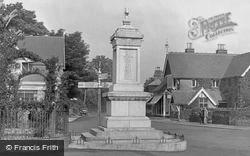 War Memorial 1925, Hawkhurst