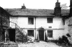 Hawkshead, Ann Tyson's Cottage 1892