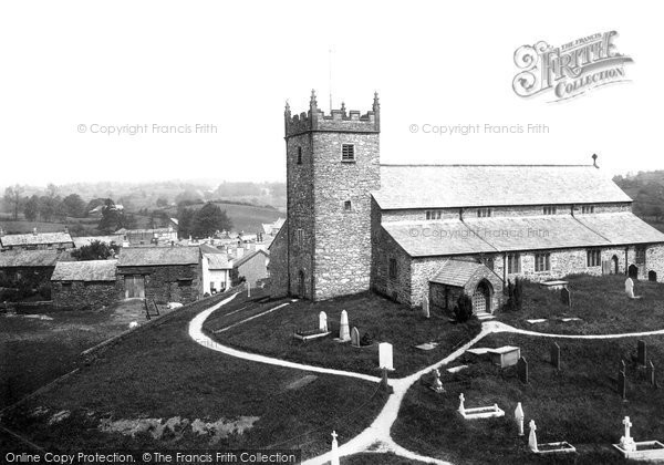 Hawkshead, the Parish Church 1892.  (Neg. 30534)  © Copyright The Francis Frith Collection 2008. http://www.francisfrith.com