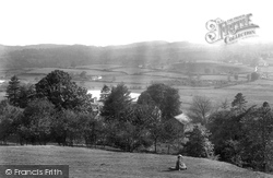 Hawkshead, Esthwaite Water, Roger Ground From Colthouse Heights 1912