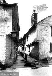 Hawkshead, Flag Street 1892