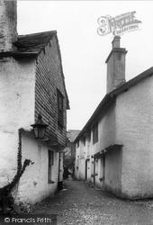 Hawkshead, Flag Street 1896